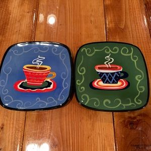 Coffee (Cafe)Theme Decor Plates